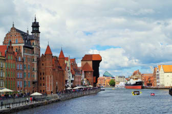 Gdansk - Gamla hamnen