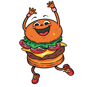 Karakter Høvding Grove hamburgerbrød