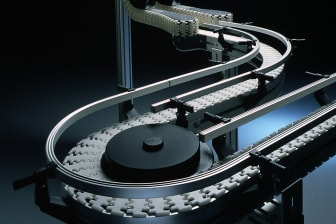 The first conveyor system from FlexLink