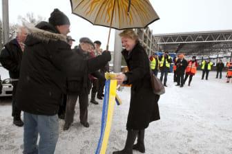 Invigning Sätra ÅVC