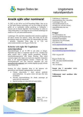 Hönsprojekt årets vinnare av Naturstipendiet