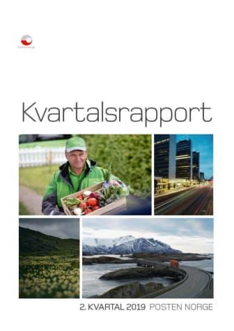 Kvartalsrapport Posten Norge Q2-2019