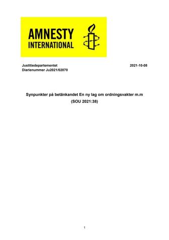 211008_Remissvar AMNESTY En ny lag om ordningsvakter m.m SOU 2021 38.pdf