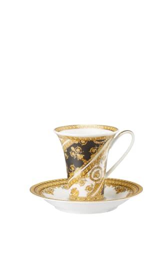 RmV_I love Baroque_Bianco-Nero_Kaffeetasse
