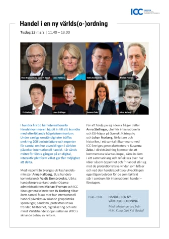 Inbjudan: ICC Sveriges årsmötesseminarium 2021