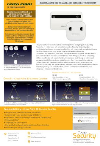 Besöksräknare med 3D-kamera ger butiken bättre kunddata