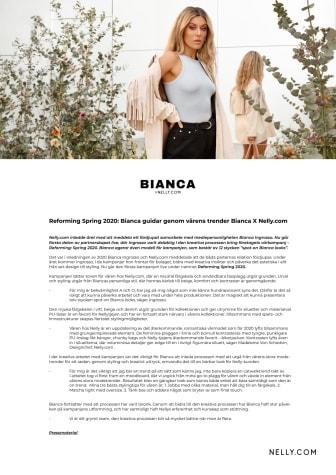 Reforming Spring 2020: Bianca guidar genom vårens trender