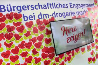 Herz zeigen! beim Bürgerfest des Bundepräsidenten