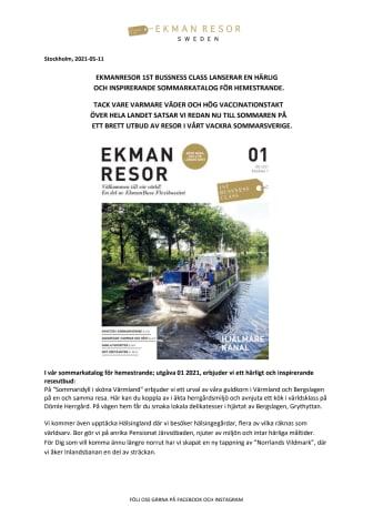Stockholm 2021-05-11. EkmanResor 1st Bussness Class bjuder på en härlig och inspirerande Sommar 2021 Hemester Resemeny.pdf