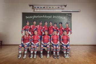Skiskytterlandslaget 2017/2018