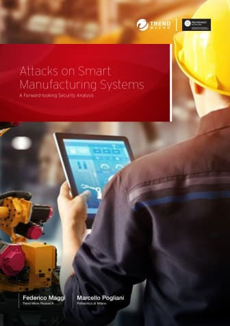 Attacks on Smart Manufacturing Systems A Forward-looking Security Analysis