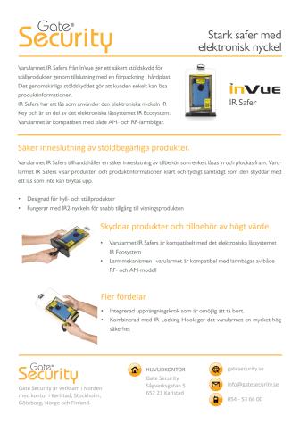 PDF: Stark safer med elektronisk nyckel