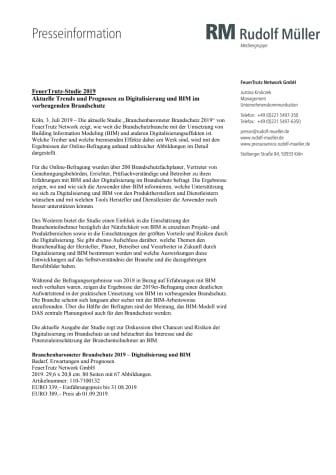 FeuerTrutz-Studie 2019