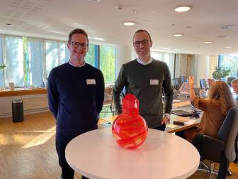 Helge Jørgensen og Jonas Aas Torland