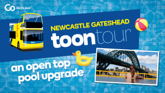 Open-top pool upgrade for Toon Tour