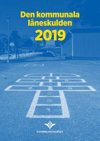 Den kommunala låneskulden 2019