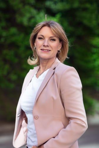Kristina Sparreljung, generalsekreterare för Hjärt-Lungfonden