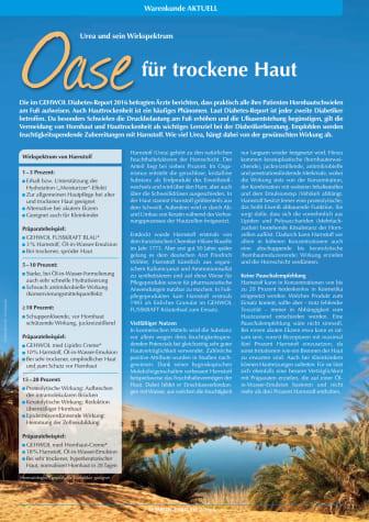 Urea und sein Wirkspektrum: Oase für trockene Haut