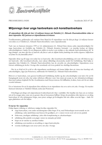 PRESSMEDDELANDE Eklund 20210720.pdf