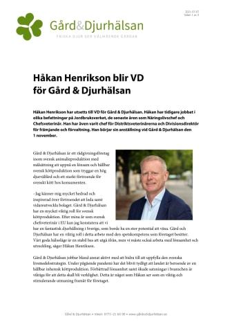 Pressmeddelande – Ny VD på Gård Djurhälsan.pdf