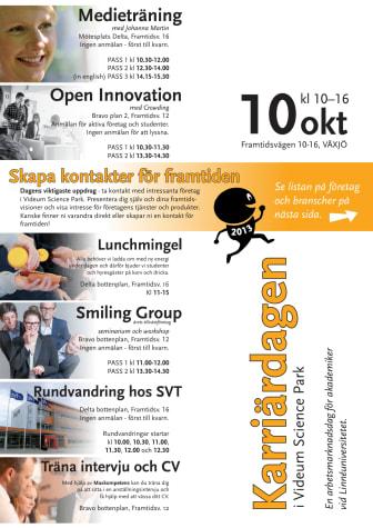 Program för Karriärdagen 2013