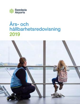 Swedavias års- och hållbarhetsredovisning 2019
