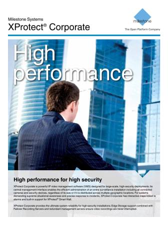 Kameraövervakning från Gate Security - Milestone XProtect Corporate