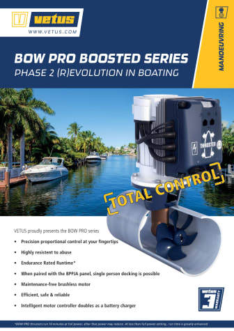VETUS BOW PRO Boosted