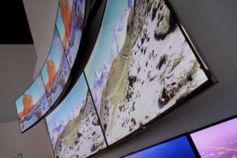 Buet UHD-TV fra Samsung