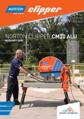 Norton Clipper CM70 ALU kivisaha - esite