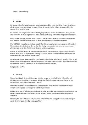Här är framtidens företag i Jämtland
