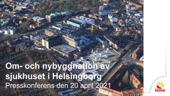 Pressmaterial Helsingborgs lasarett