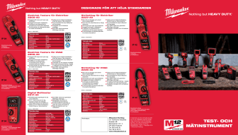 Milwaukee  Test- & Mätinstrument broschyr