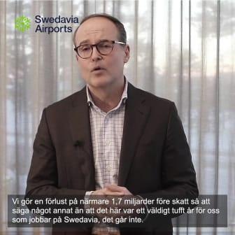 Swedavias vd sammanfattar året som gått