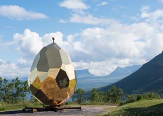 Riksbyggens Solar Egg (Solägget) i Björkliden