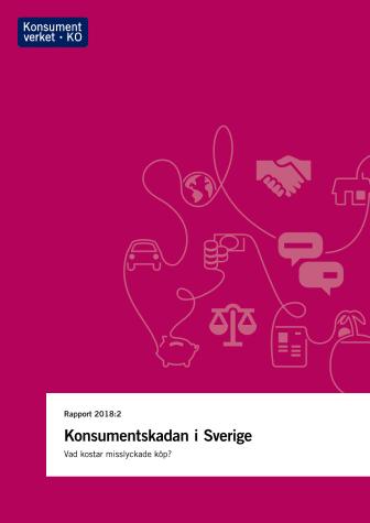 Konsumentverkets rapport ''Konsumentskadan i Sverige''