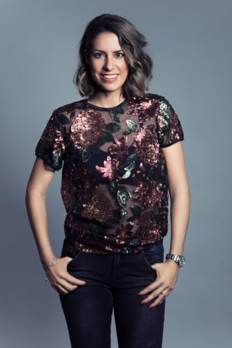 Modejournalist Nina Campioni