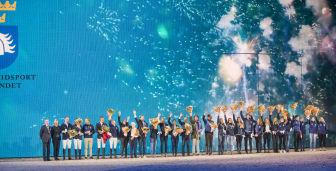 Medaljörer uppvaktades