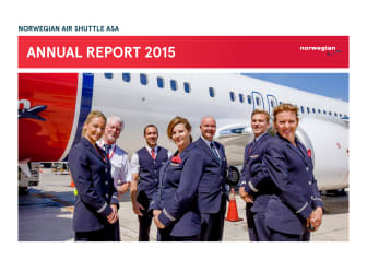 Norwegian's annual report for 2015