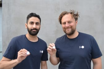 Flic founders Amir Sharifat and Joacim Westlund Prändel