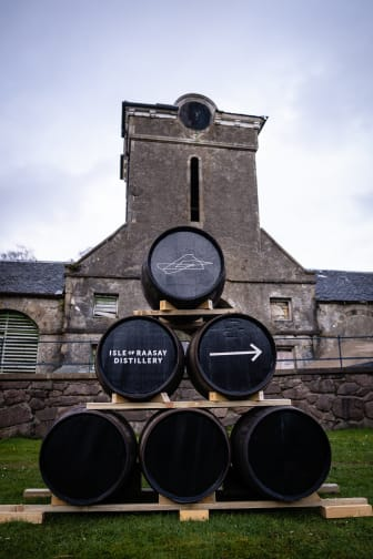 Barrel Sign in front of Steading.jpg