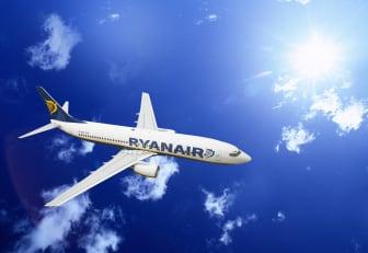Ryanair plan som flyger