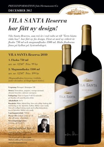 Vila Santa Reserva har fått ny design!