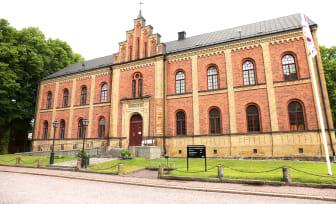 Gamla biblioteket i Skara, framsidan