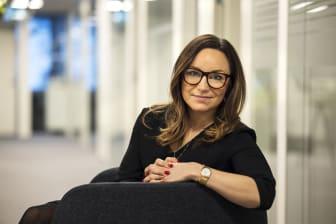 Sofia Enberg, vd för Riksbyggens proptech-bolag Rafino