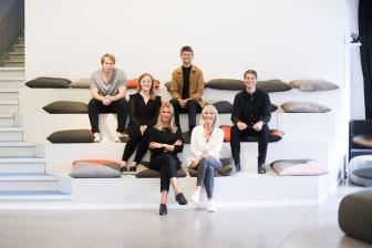 Hela Liljewall-teamet bakom det vinnande förslaget för Kvarteret Kedjan