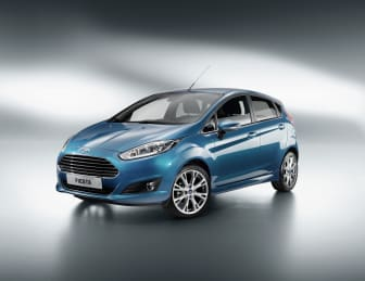 Nya Ford Fiesta - Blå