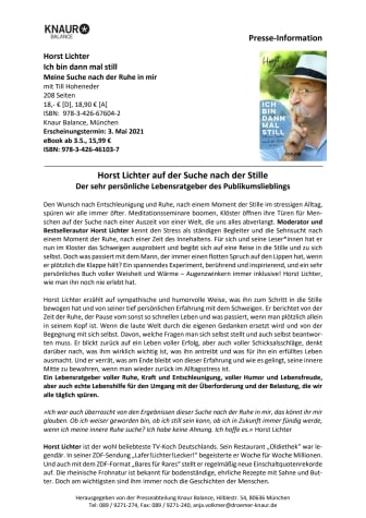 Presseinfo_Horst Lichter_Ich bin dann mal still.pdf