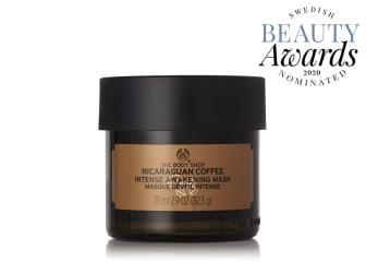 Coffee Mask Swedish Beauty Awards 2020