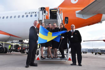 Premiärtur till Bristol från Stockholm Arlanda Airport